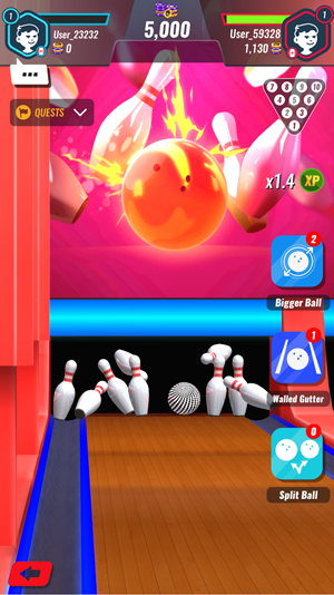 3D Bowling Bash