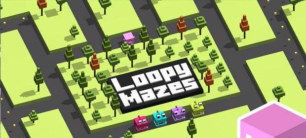 Loopy Mazes: 3D Pac Hopper Man