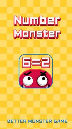 Number Monster-math train