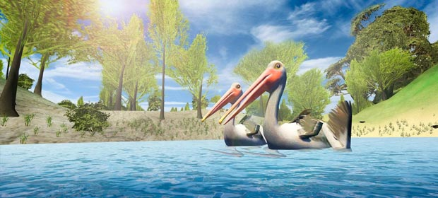 Pelican Bird Simulator 3D