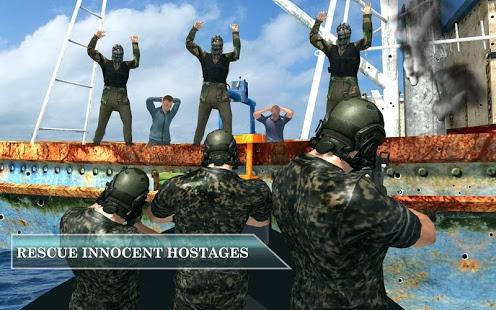 Pirate Ship Vs Naval Fleet Stealth Rescue Mission