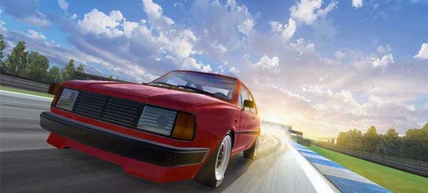 Iron Curtain Racing - car racing game