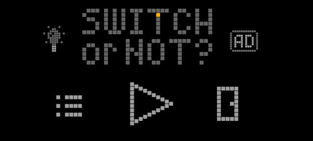 SWITCH or NOT? – logic puzzles & logic problems