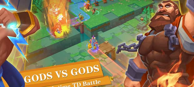 Gods TD: Myth defense (Unreleased)