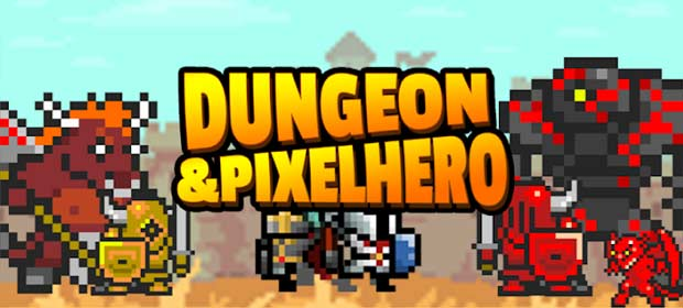 Dungeon n Pixel Hero - Retro RPG