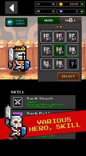 Dungeon n Pixel Hero - Retro RPG