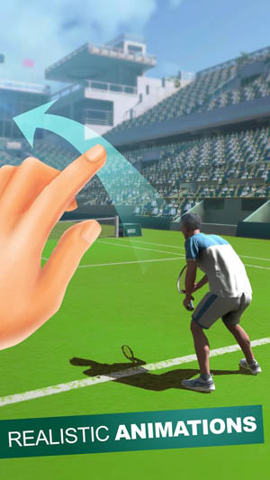 Top Shot 3D: Tennis Games 2018