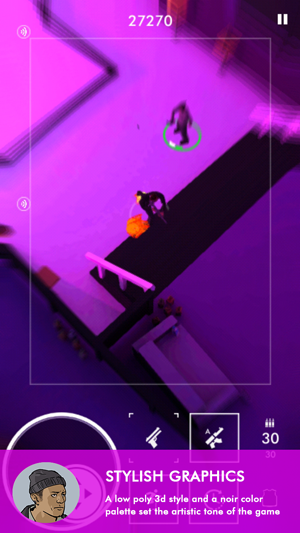 Neon Noir - Mobile Arcade Shooter