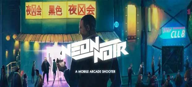 Neon Noir - Mobile Arcade Shooter