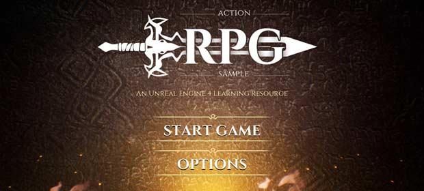 Action RPG Game Sample