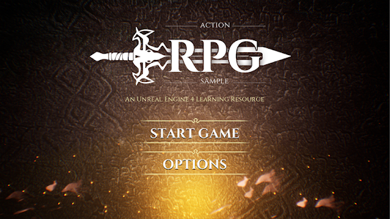 Action RPG Game Sample