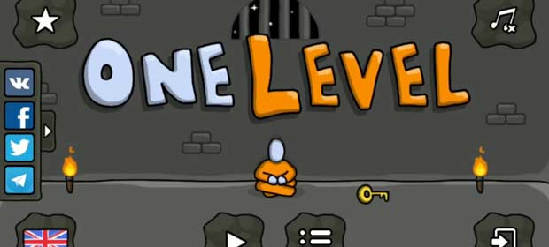 One Level 2: Stickman Jailbreak